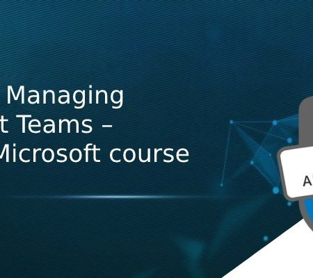 MS-700: Managing Microsoft Teams – Official Microsoft course